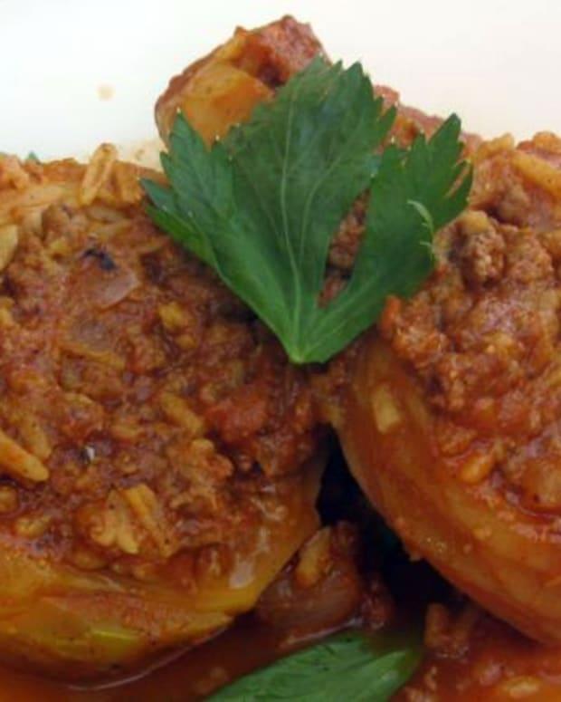 Moroccan Beef Stuffed Artichhokes
