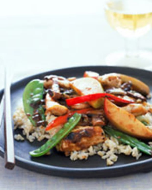 Ginger Apple Stir Fry
