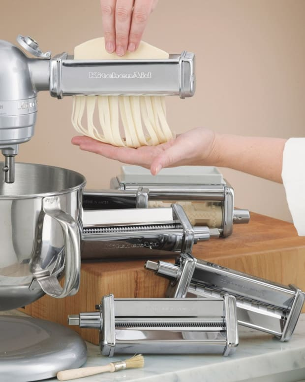 kitchen aid pasta attachment