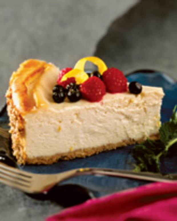 Lemon Tofu Cheesecake
