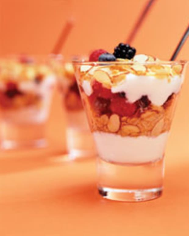 Tropical Granola Parfait