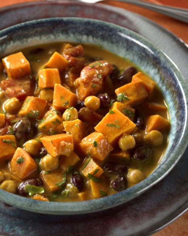 Curried Sweet Potato and Peanut Stew