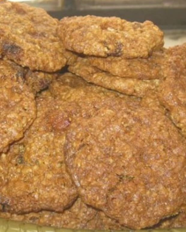 Updated Oatmeal Raisin Cookies