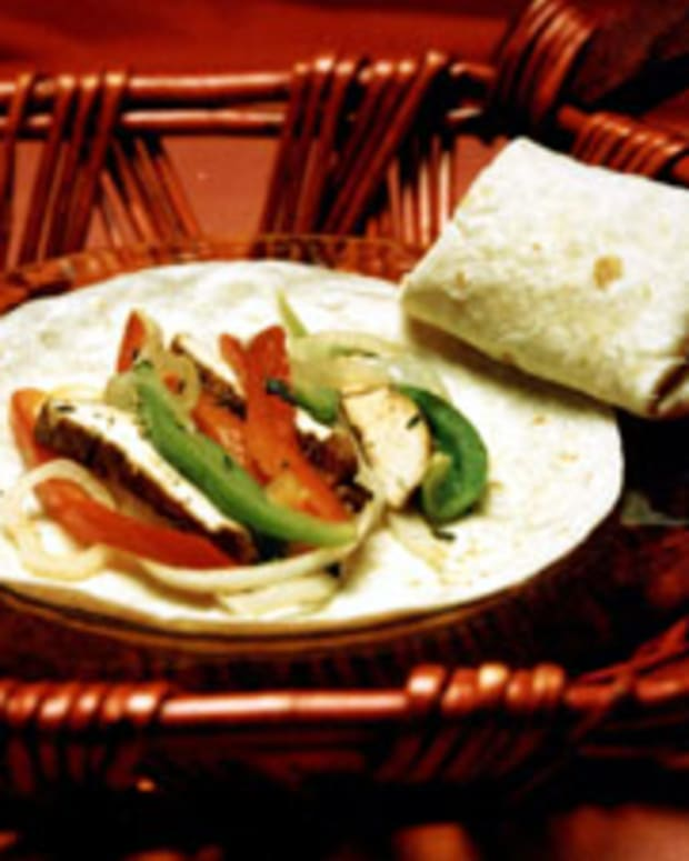 Roasted Chicken Wrap