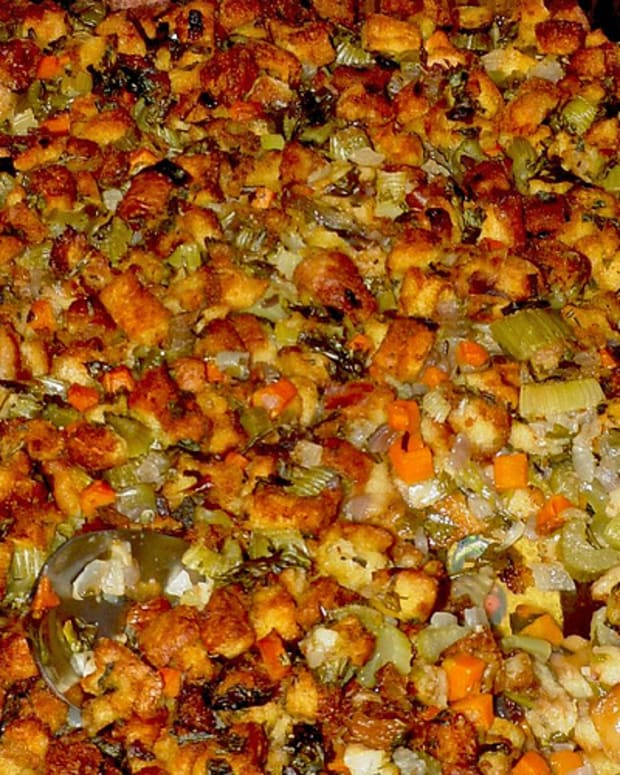 Cumin Pumpkin Bread Stuffing
