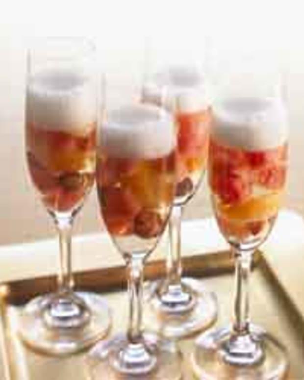 Watermelon Champagne Sangria