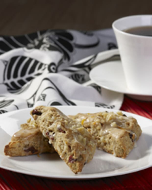 Walnut & Tart Cherry Scones