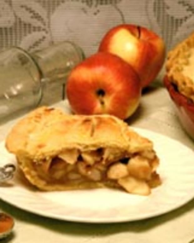 Autumn Apple Pie & Double Pastry Crust
