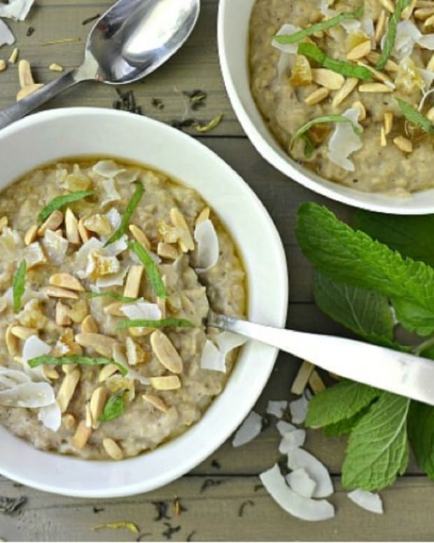 Green Tea Oatmeal
