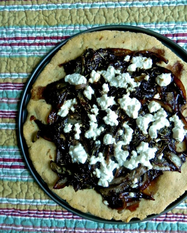 fig and onion galette