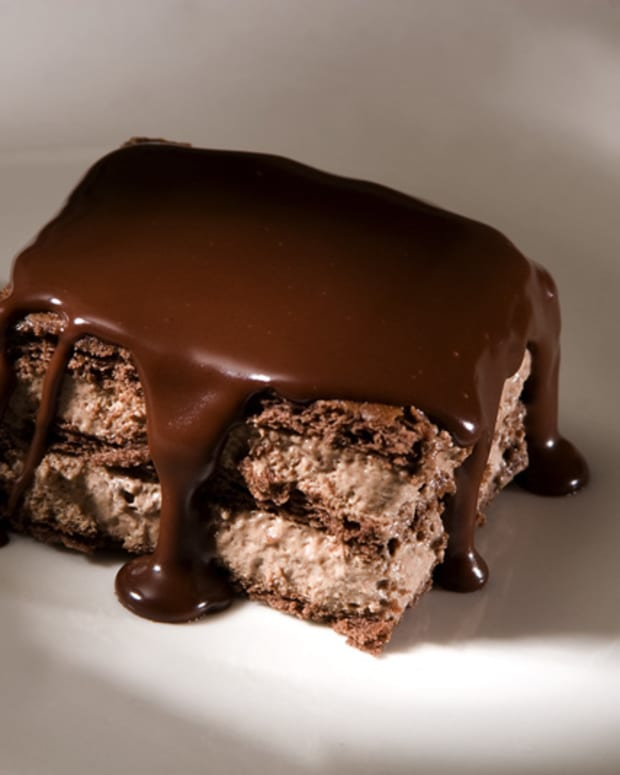 chocolate napoleon