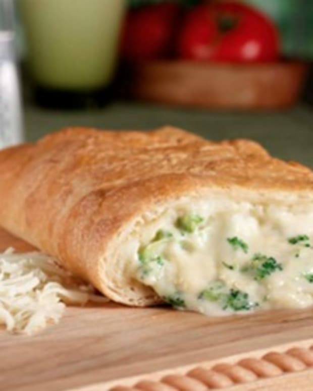 Easy, Cheesy Calzone
