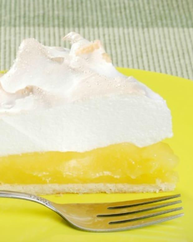 non dairy lemon meringue pie