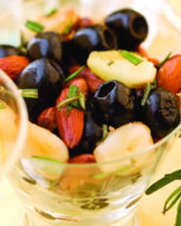 Mediterranean Roasted Olives