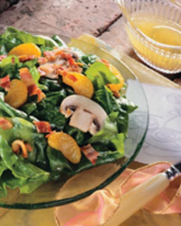 Warm Orange Soybean Oil Vinaigrette