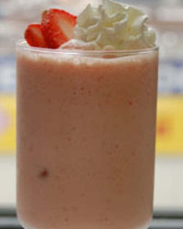 Orangeberry Smoothie