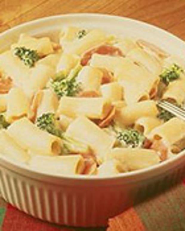 Rigatoni Vegetable Casserole