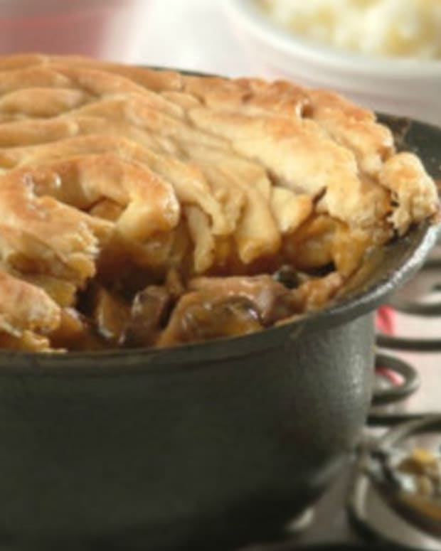 oxtail pie