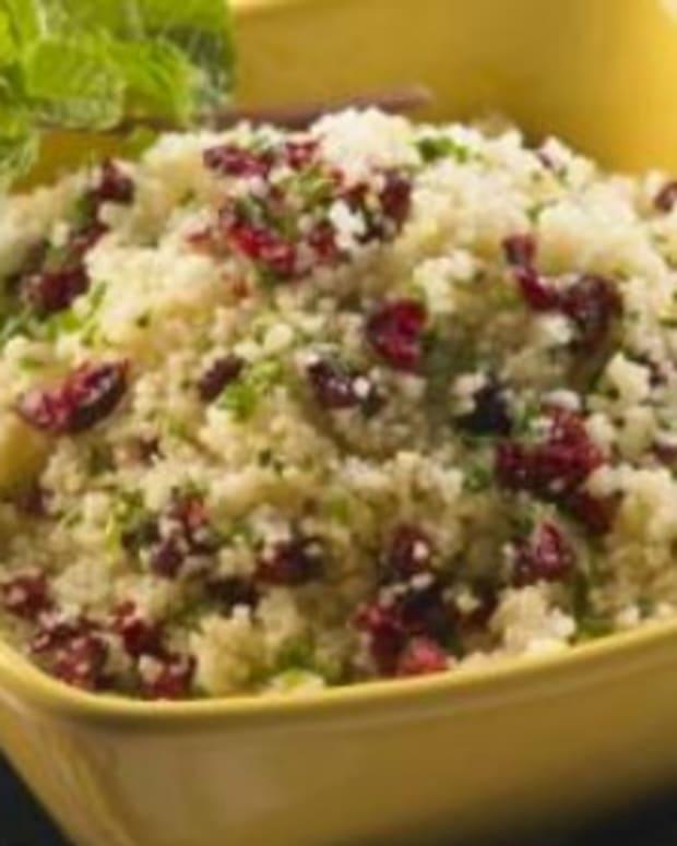 Couscous and Cranberry Salad