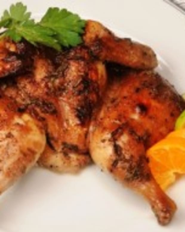 Caramelized Cornish Hens