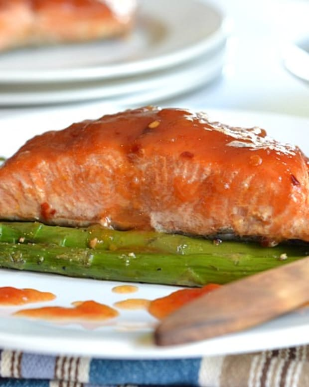 weet and sour salmon