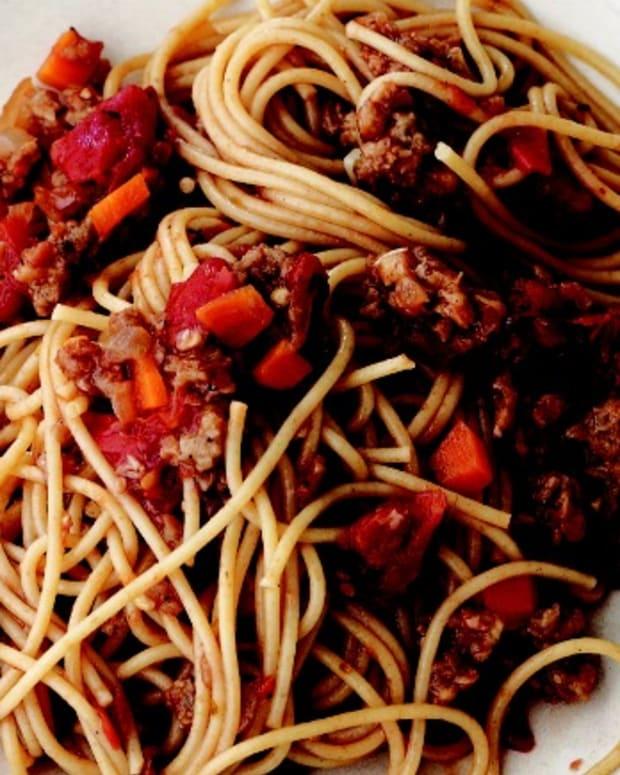 "Spaghetti ""Bolognese"" - vegan"