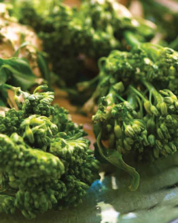 Kosher Broccolini in a Creamy Wine Balsamic Sauce Recipe
