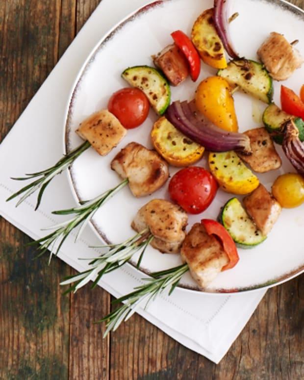 Chicken and Veggie Skewers