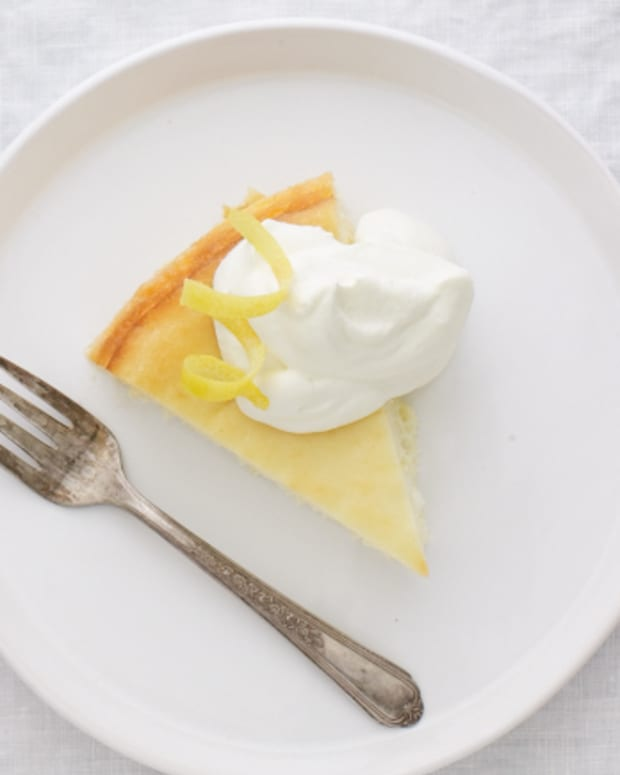 Low-Fat Lemon Cheesecake
