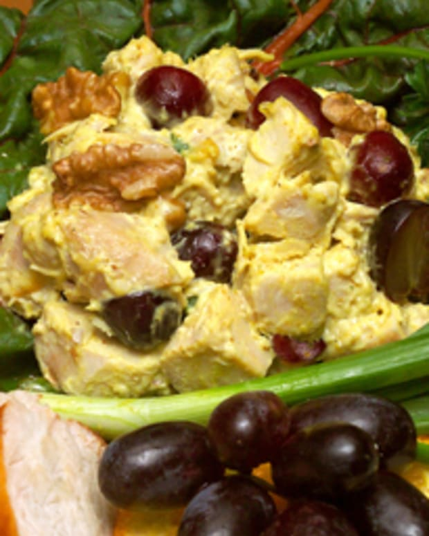 Sonoma County Curry Chicken Salad with Walnuts