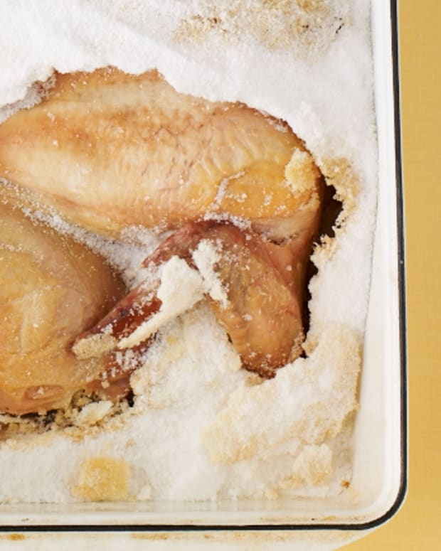 Chicken in a Salt Crust