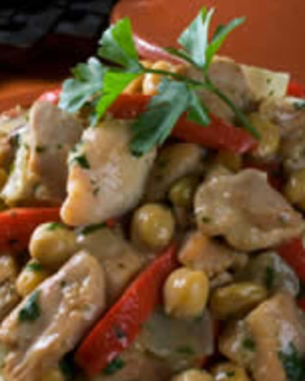 Casablanca Chicken Stew