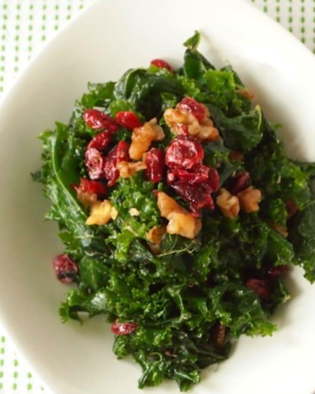 miso kale salad