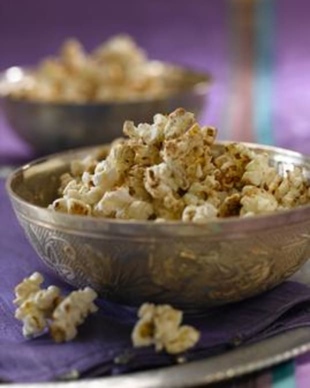 Sweet Garam Masala Kettle Corn