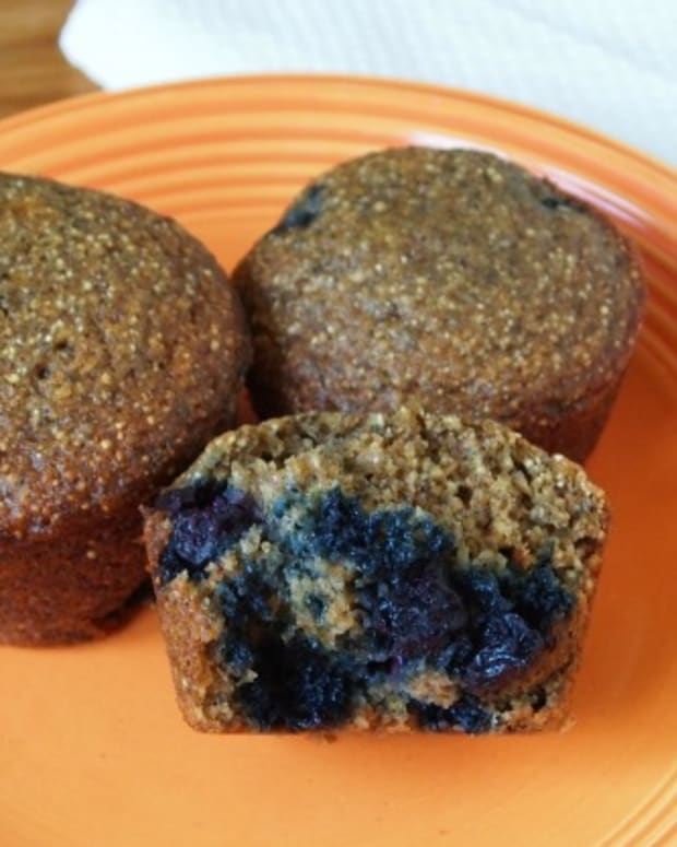 Buckwheat-Chia-Blueberry-Muffins