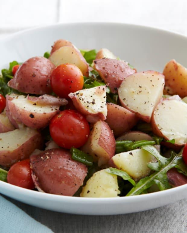 Potato Salad with Arugula and Tomato