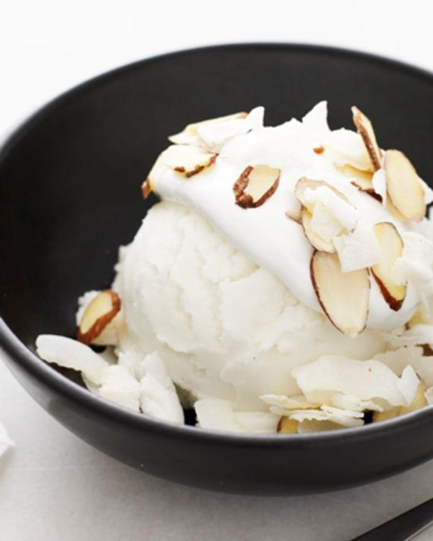 white sundae