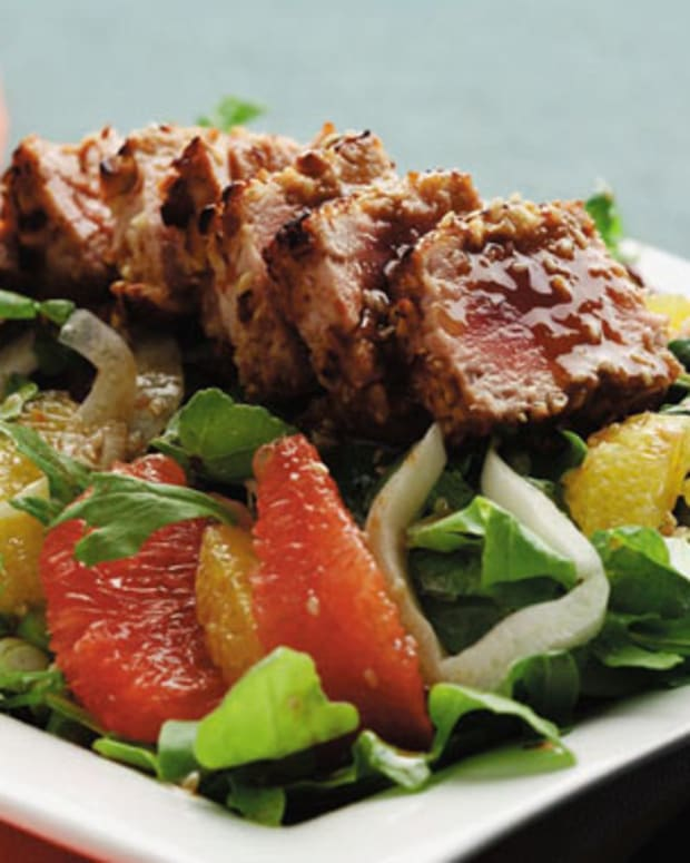 Citrus and Soy Tuna Salad