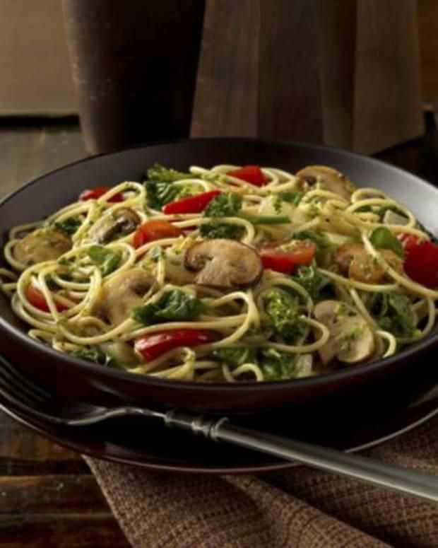 Super Mushroom Veggie Pasta