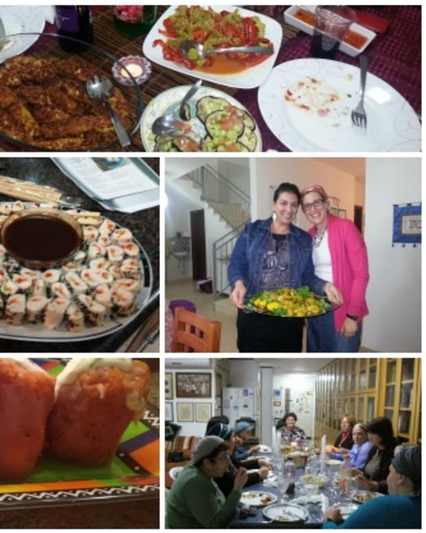 israel cookbook parties