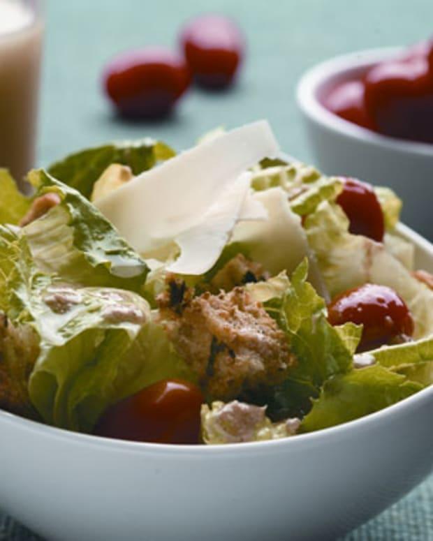 Lemony Ceasar Salad