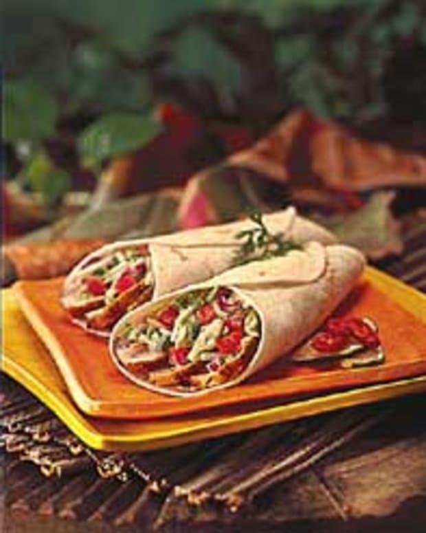 Jerk Turkey Wraps