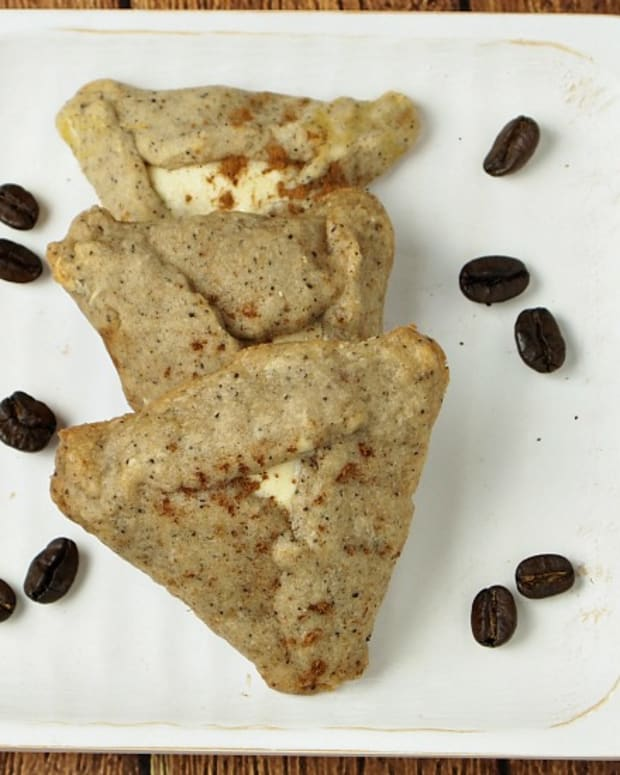 Cappuccino Flavored Hamantashen