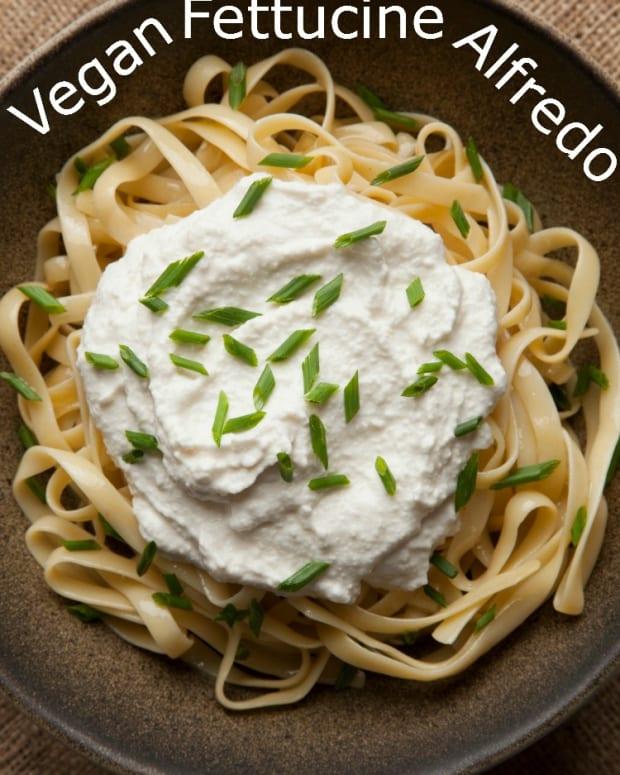 Vegan Fettucine Alfredo