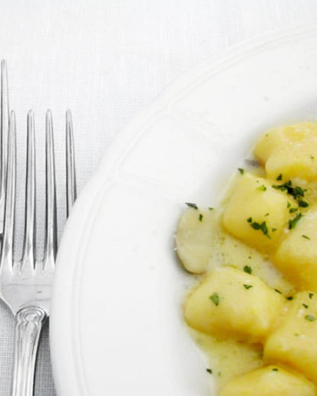 Lemon Thyme Gnocchi
