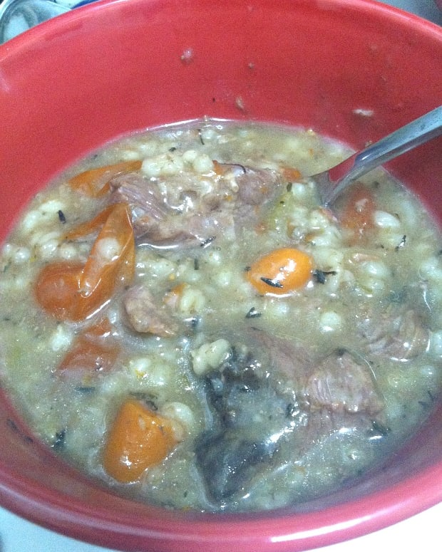 slow cooker barley stew