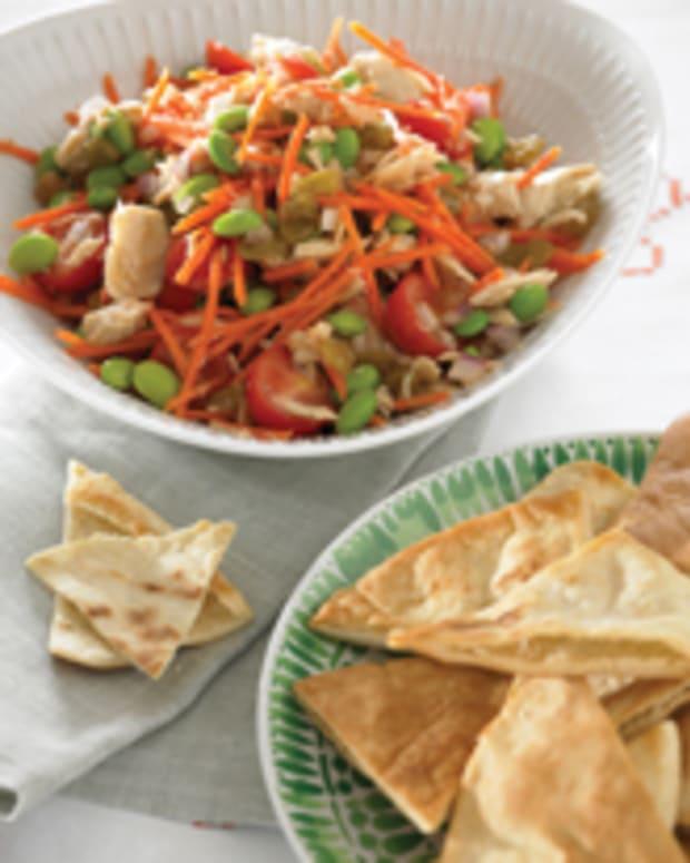 Tuna Edamame Salad