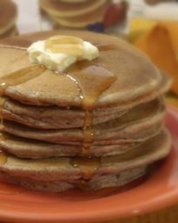 Simple Spelt Pancakes