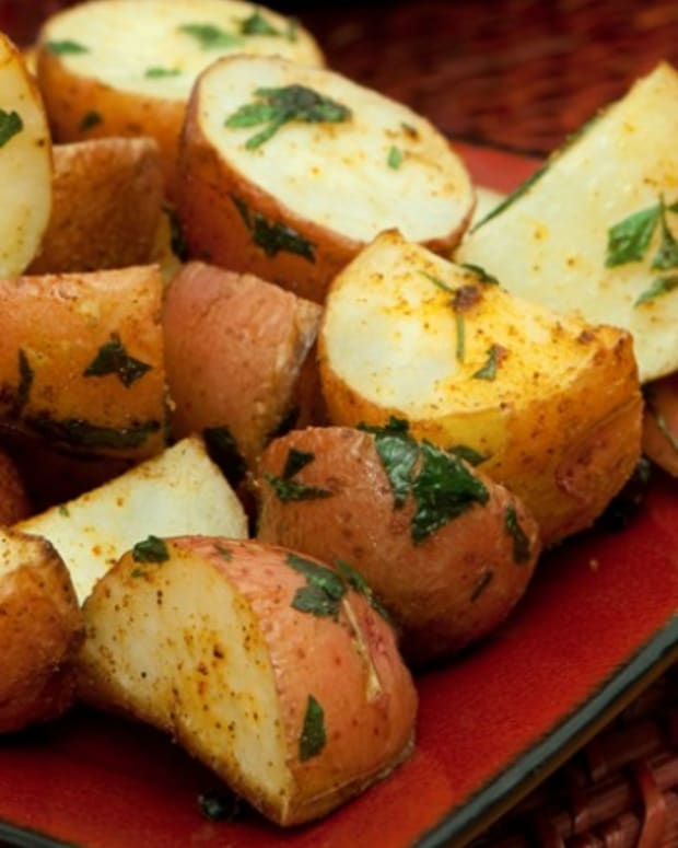 Herb Roasted Red Bliss Potatoes
