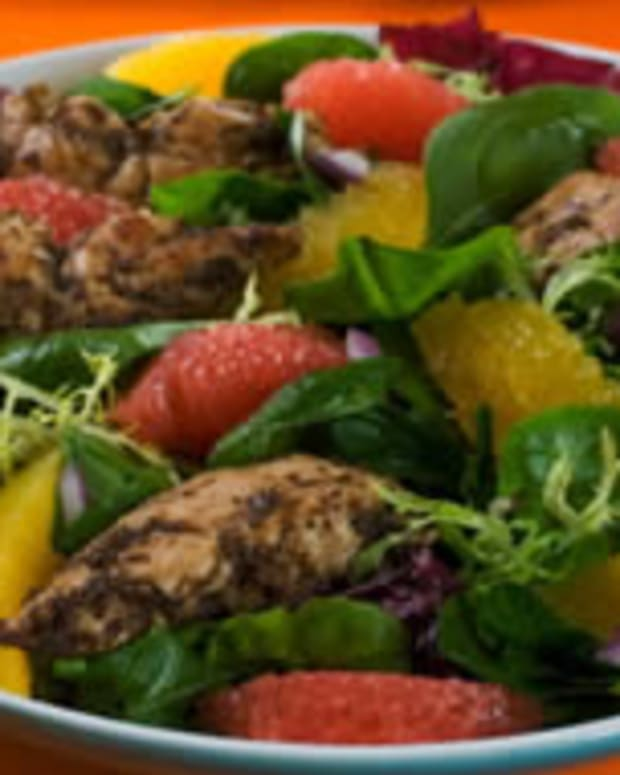 Caribbean Chicken and Citrus Salad